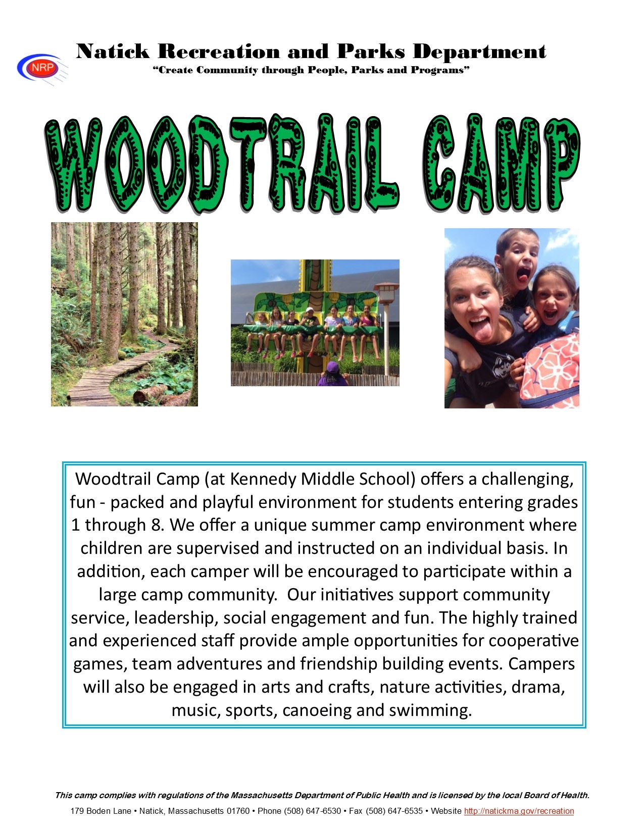 WOodtrail 2018 Brochure